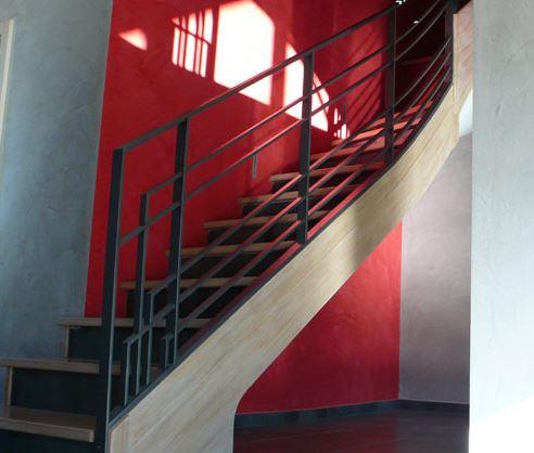 escalier design geneve